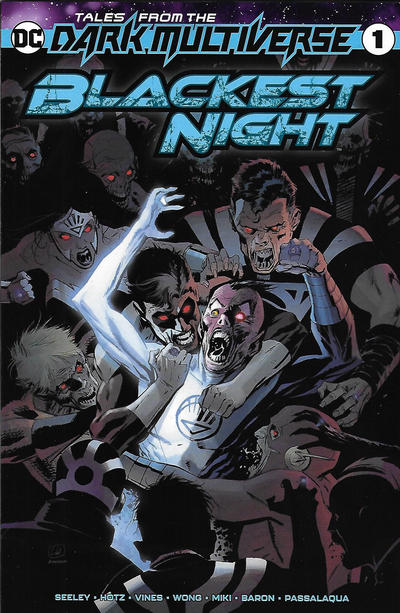Cover for Tales from the Dark Multiverse: Blackest Night (DC, 2020 series) #1