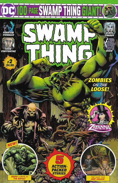 Cover for Swamp Thing Giant (DC, 2019 series) #2 [Direct Market Edition]