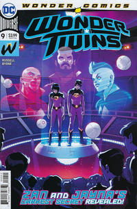 Cover Thumbnail for Wonder Twins (DC, 2019 series) #9