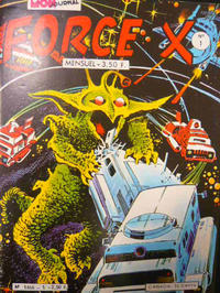 Cover Thumbnail for Force X (Mon Journal, 1980 series) #1