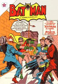 Cover Thumbnail for Batman (Editorial Novaro, 1954 series) #21