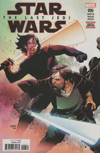 Cover Thumbnail for Star Wars: The Last Jedi Adaptation (Marvel, 2018 series) #6 [Mahmud Asrar]
