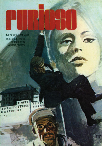 Cover for Furioso (Éditions Elisa Presse, 1974 series) #2