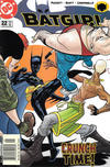 Cover for Batgirl (DC, 2000 series) #22 [Newsstand]