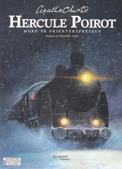 Cover for Hercule Poirot (Hjemmet / Egmont, 2019 series) #[1] - Mord på Orientekspressen
