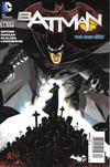 Cover for Batman (DC, 2011 series) #34 [Newsstand]