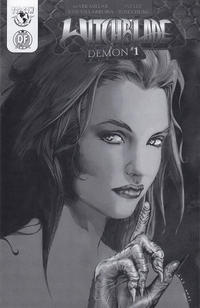 Cover Thumbnail for Witchblade: Demon (Top Cow Productions, 2003 series) #1 [Dynamic Forces Exclusive Cover C Black and White Variant]