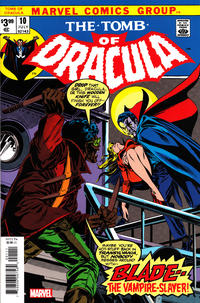 Cover Thumbnail for Tomb of Dracula No. 10 Facsimile Edition (Marvel, 2020 series)