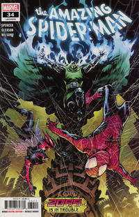 Cover Thumbnail for Amazing Spider-Man (Marvel, 2018 series) #34 (835)