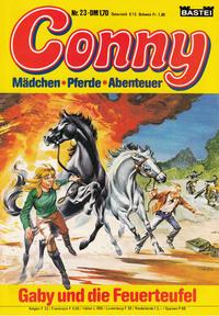 Cover Thumbnail for Conny (Bastei Verlag, 1980 series) #23