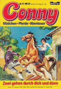 Cover Thumbnail for Conny (Bastei Verlag, 1980 series) #26