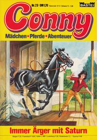 Cover Thumbnail for Conny (Bastei Verlag, 1980 series) #28