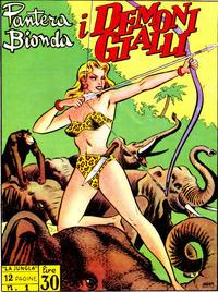 Cover Thumbnail for Pantera Bionda (A.R.C., 1948 series) #1
