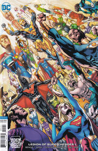 Cover Thumbnail for Legion of Super-Heroes (DC, 2020 series) #1 [Local Comic Shop Day variant]