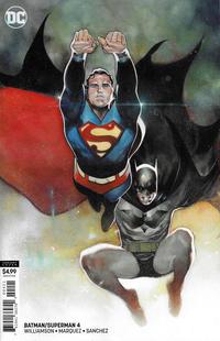 Cover Thumbnail for Batman / Superman (DC, 2019 series) #4 [Olivier Coipel Cardstock Variant Cover]