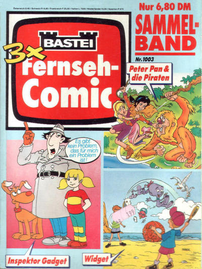 Cover for Bastei Fernseh-Comic Sammelband (Bastei Verlag, 1994 ? series) #1003