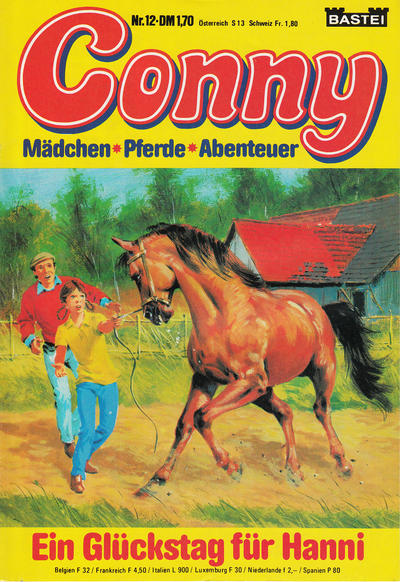 Cover for Conny (Bastei Verlag, 1980 series) #12
