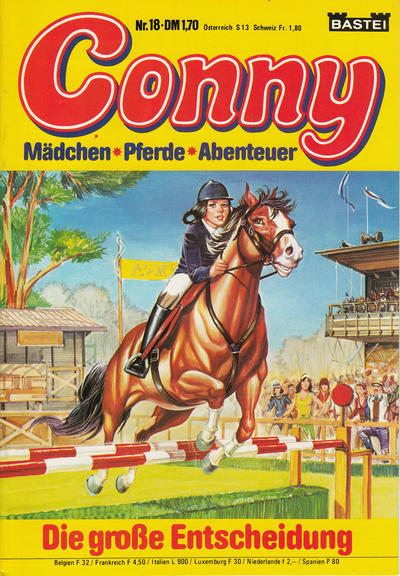 Cover for Conny (Bastei Verlag, 1980 series) #18