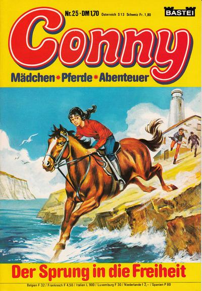 Cover for Conny (Bastei Verlag, 1980 series) #25
