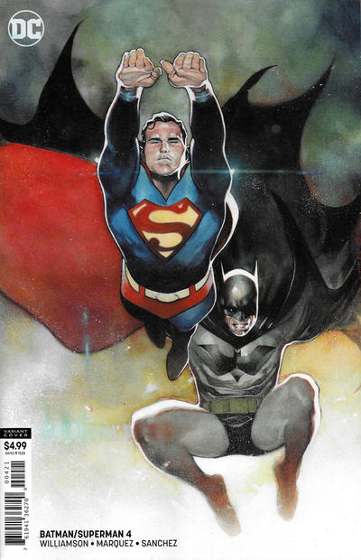 Cover for Batman / Superman (DC, 2019 series) #4 [Acetate Cover]