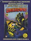 Cover for Gwandanaland Comics (Gwandanaland Comics, 2016 series) #2498-A - Adventures into the Unknown Readers Giant #1