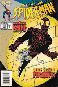 Cover Thumbnail for The Amazing Spider-Man (Marvel, 1963 series) #401 [Newsstand]
