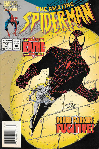 Cover for The Amazing Spider-Man (Marvel, 1963 series) #401 [Direct Edition]