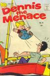 Cover for Dennis the Menace (Hallden; Fawcett, 1959 series) #73