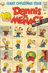 Cover for Dennis the Menace Giant (Hallden; Fawcett, 1958 series) #6 - Dennis the Menace Giant Christmas Issue