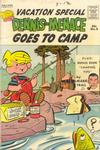 Cover for Dennis the Menace Giant (Hallden; Fawcett, 1958 series) #9 - Dennis the Menace Goes to Camp