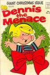 Cover for Dennis the Menace Giant (Hallden; Fawcett, 1958 series) #11 - Dennis the Menace Giant Christmas Issue