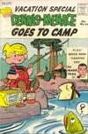 Cover for Dennis the Menace Giant (Hallden; Fawcett, 1958 series) #24 - Dennis the Menace Goes to Camp
