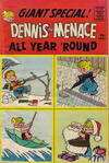 Cover for Dennis the Menace Giant (Hallden; Fawcett, 1958 series) #31 - Dennis the Menace All Year 'Round