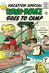 Cover for Dennis the Menace Giant (Hallden; Fawcett, 1958 series) #39 - Dennis the Menace Goes to Camp