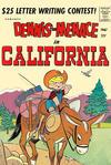 Cover for Dennis the Menace Giant (Hallden; Fawcett, 1958 series) #47 - Dennis the Menace in California