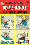 Cover for Dennis the Menace Giant (Hallden; Fawcett, 1958 series) #49 - Dennis the Menace All Year 'Round