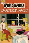 Cover for Dennis the Menace Giant (Hallden; Fawcett, 1958 series) #56 - Dennis the Menace Television Special