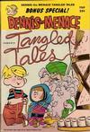 Cover for Dennis the Menace Giant (Hallden; Fawcett, 1958 series) #70 - Dennis the Menace Tangled Tales