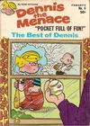 Cover for Dennis the Menace Pocket Full of Fun (Hallden; Fawcett, 1969 series) #4