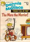 Cover for Dennis the Menace Pocket Full of Fun (Hallden; Fawcett, 1969 series) #9