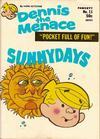Cover for Dennis the Menace Pocket Full of Fun (Hallden; Fawcett, 1969 series) #11