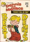 Cover for Dennis the Menace Pocket Full of Fun (Hallden; Fawcett, 1969 series) #16