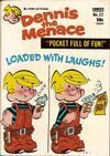 Cover for Dennis the Menace Pocket Full of Fun (Hallden; Fawcett, 1969 series) #17