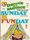 Cover for Dennis the Menace Pocket Full of Fun (Hallden; Fawcett, 1969 series) #35