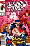 Cover for Wonder Man (Marvel, 1991 series) #17 [Newsstand Edition]