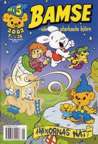Cover Thumbnail for Bamse (Egmont, 1997 series) #5/2002