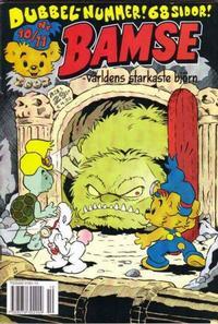 Cover Thumbnail for Bamse (Egmont, 1997 series) #10-11/2002