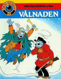 Cover Thumbnail for Örn-serien [Örnserien] (Semic, 1982 series) #19 - Chick Bills äventyr av Tibet: Vålnaden