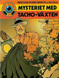 Cover Thumbnail for Örn-serien [Örnserien] (Semic, 1982 series) #22 - Professor Picaros äventyr av Dick Briel: Mysteriet med Tacho-växten