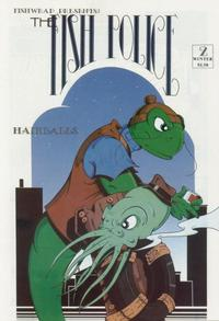 Cover Thumbnail for Fish Police (Fishwrap Productions, 1985 series) #2
